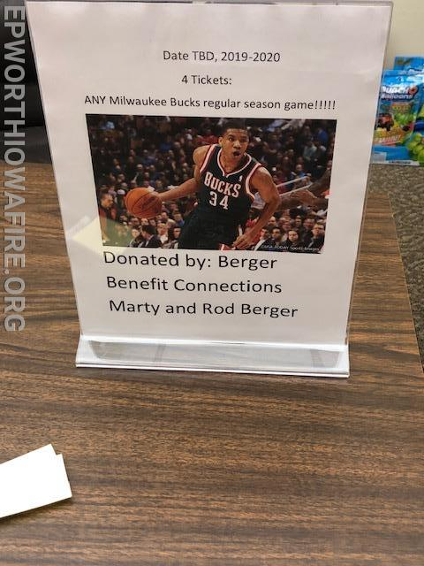 4 Tickets to any game from Berger Benefit Connections