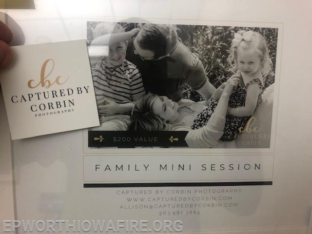 Family Mini Session donated by Captured by Corbin worth $200