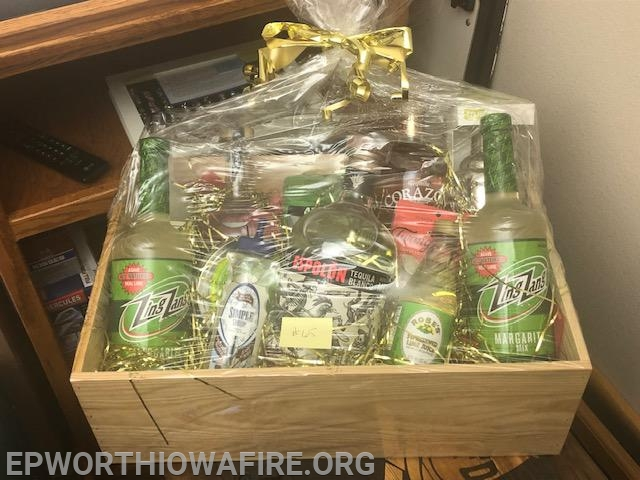Margarita Box donated by Dale and Renee Snyder