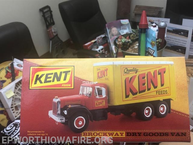 Kent Truck donated by Don and Kay Link