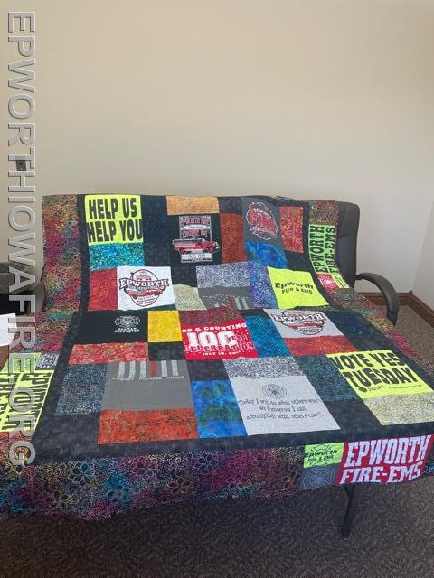 EFD Quilt donated by Bill Berger/Laree Landt