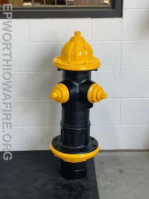 Hawkeye Fire Hydrant Donated by Dan and Jen Conlon