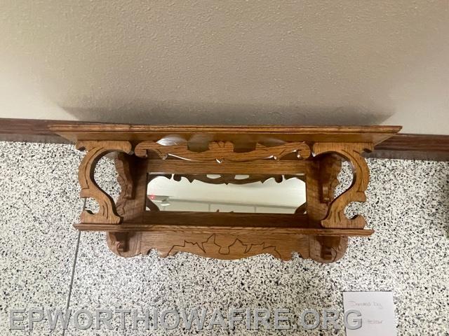 Shelf donated by Don Holzer