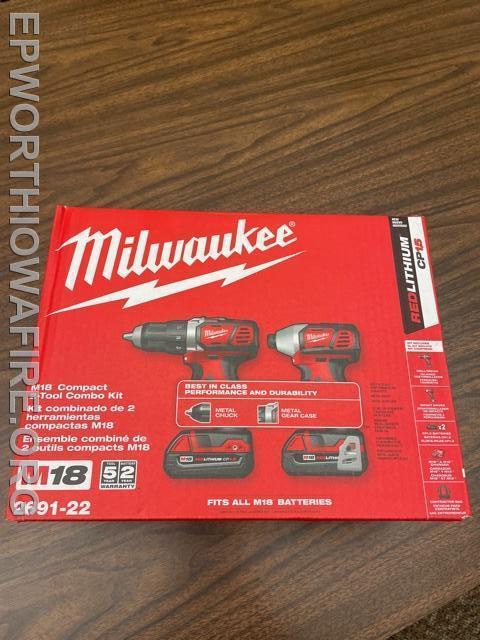 Milwaukee M18 Combo Kit