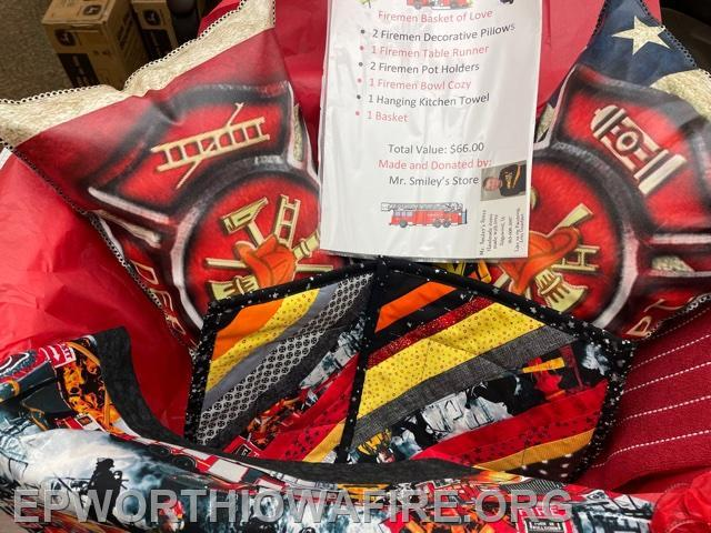 Fire Basket of Love donated by Mr. Smiley's Creations