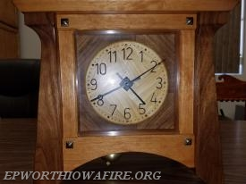 Homemade Wooden Clock